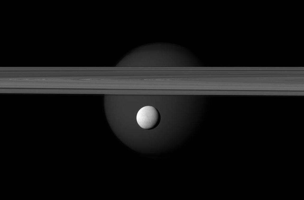 Enceladus, Saturn's Amazing Snowball Moon 06