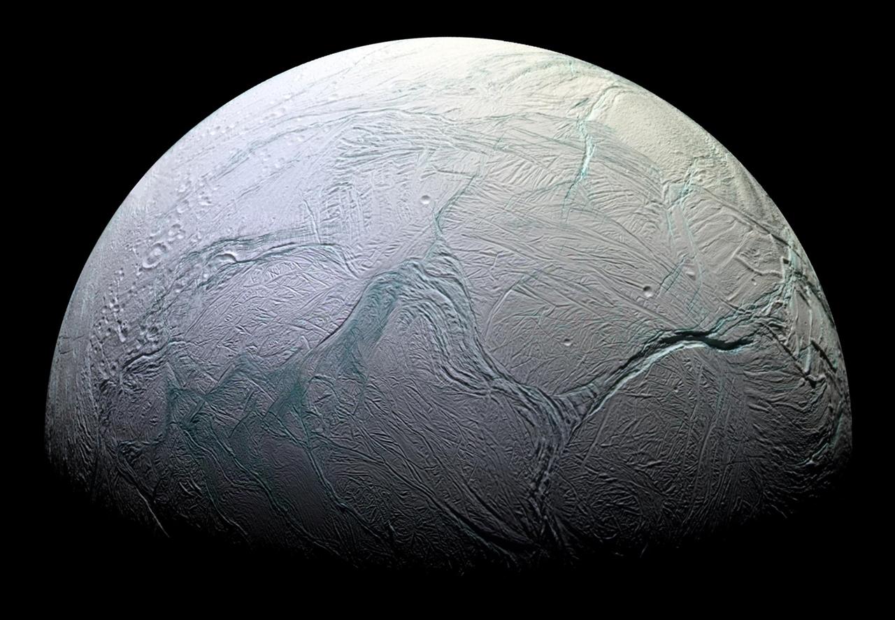 Enceladus, Saturn's Amazing Snowball Moon 07