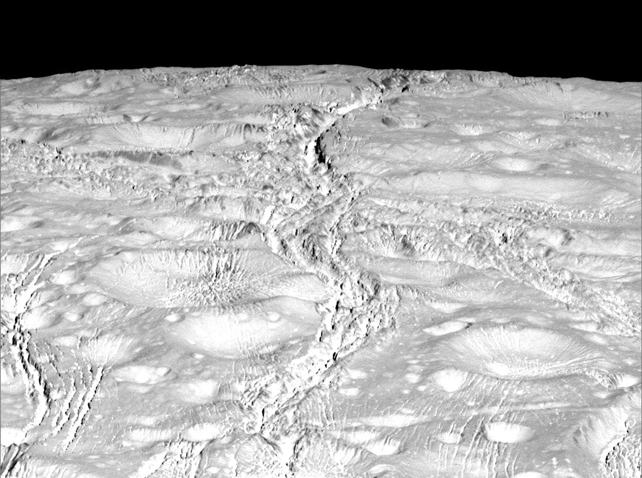 Enceladus, Saturn's Amazing Snowball Moon 14