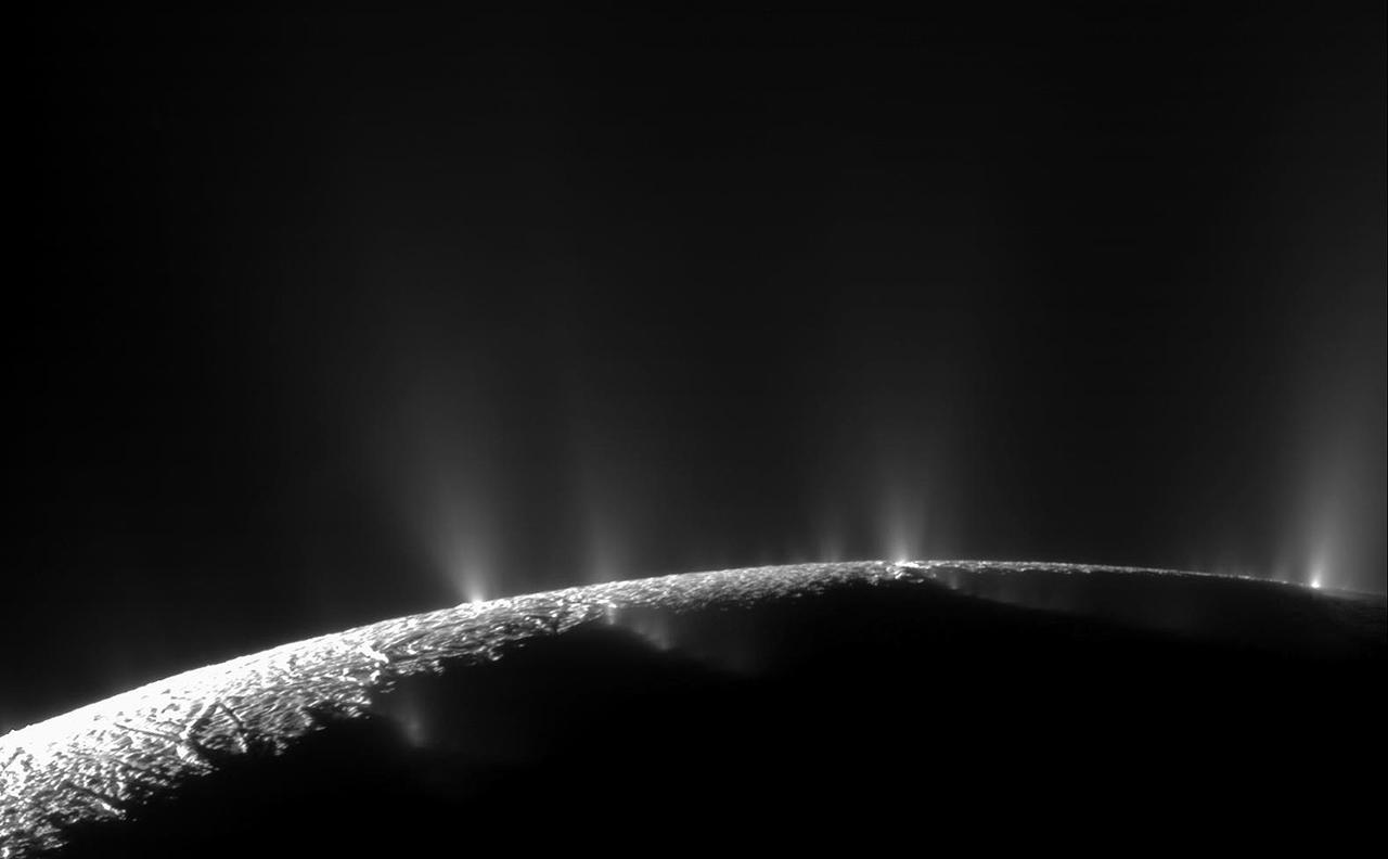 Enceladus, Saturn's Amazing Snowball Moon 16
