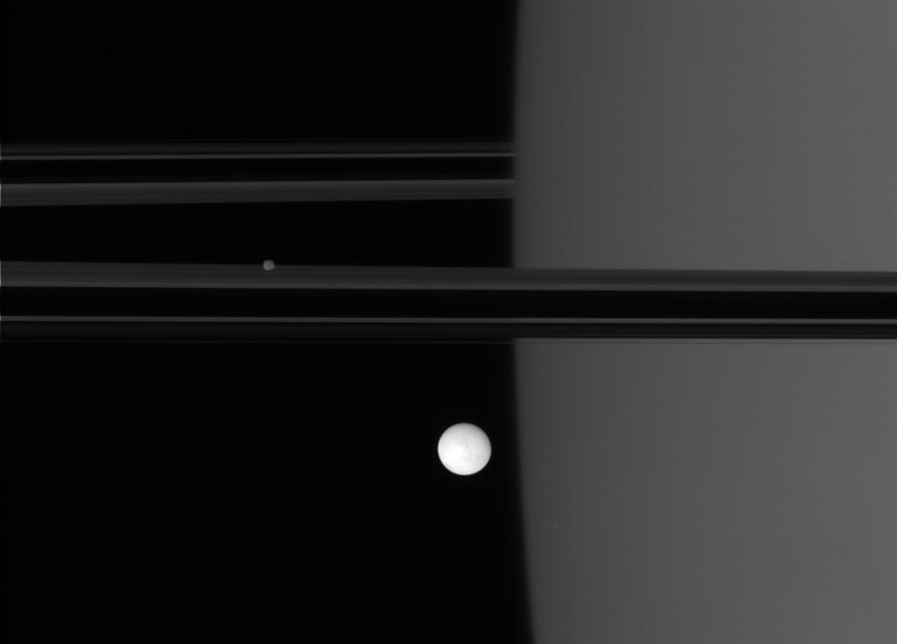 Enceladus, Saturn's Amazing Snowball Moon 17