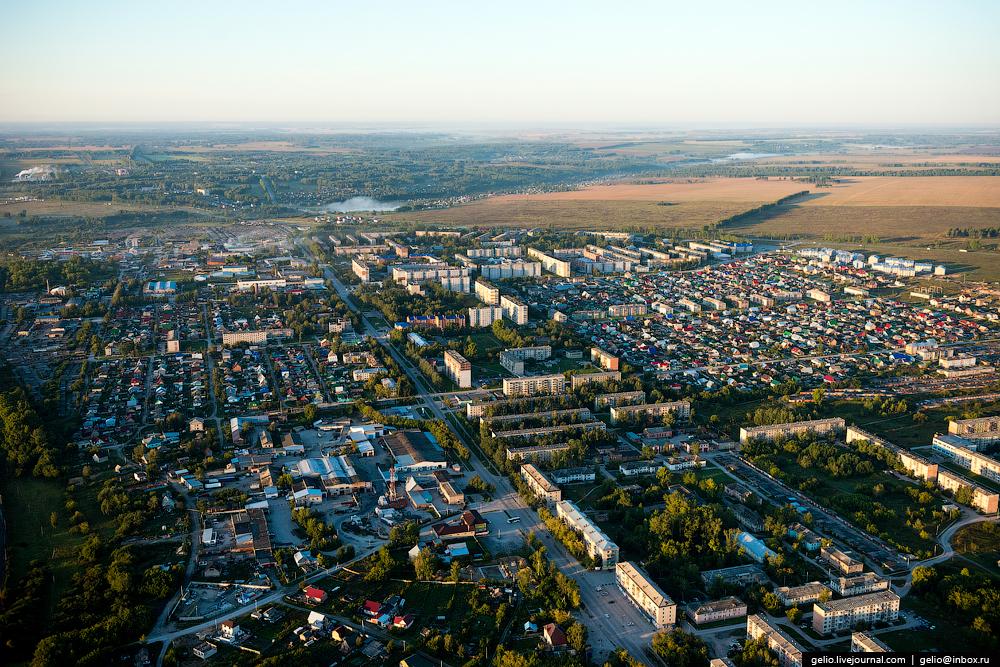 Flight over Novosibirsk region. Berd rocks 07