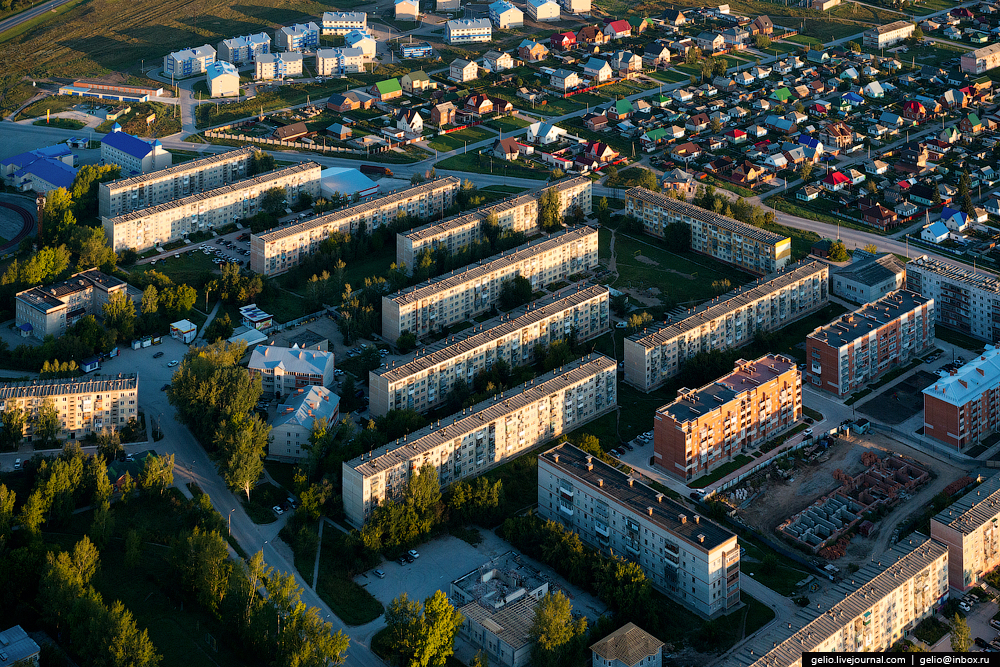 Flight over Novosibirsk region. Berd rocks 08