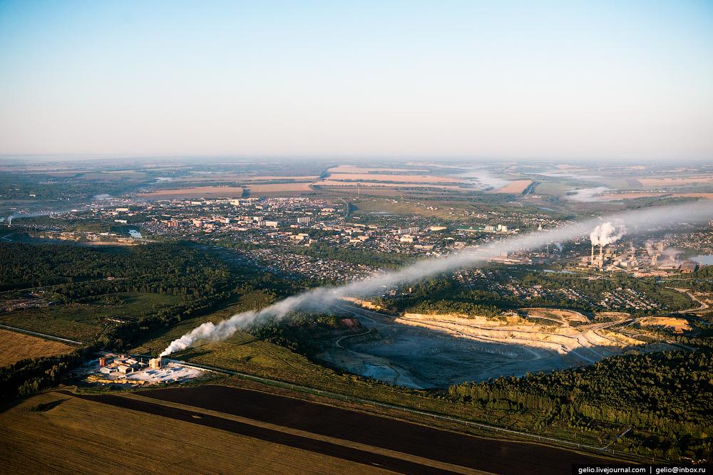 Flight over Novosibirsk region. Berd rocks 10