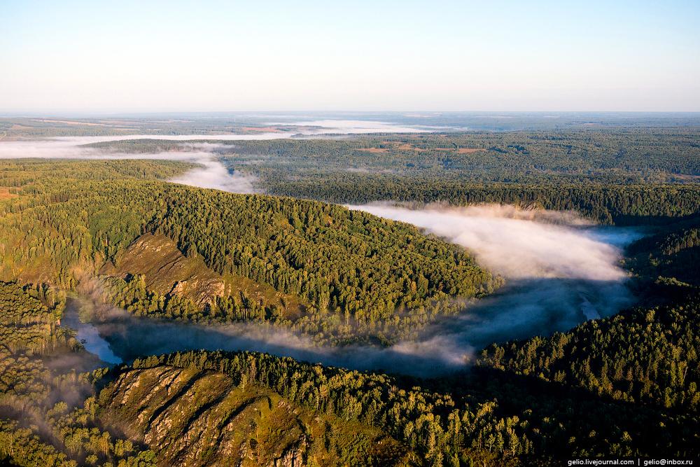 Flight over Novosibirsk region. Berd rocks 14