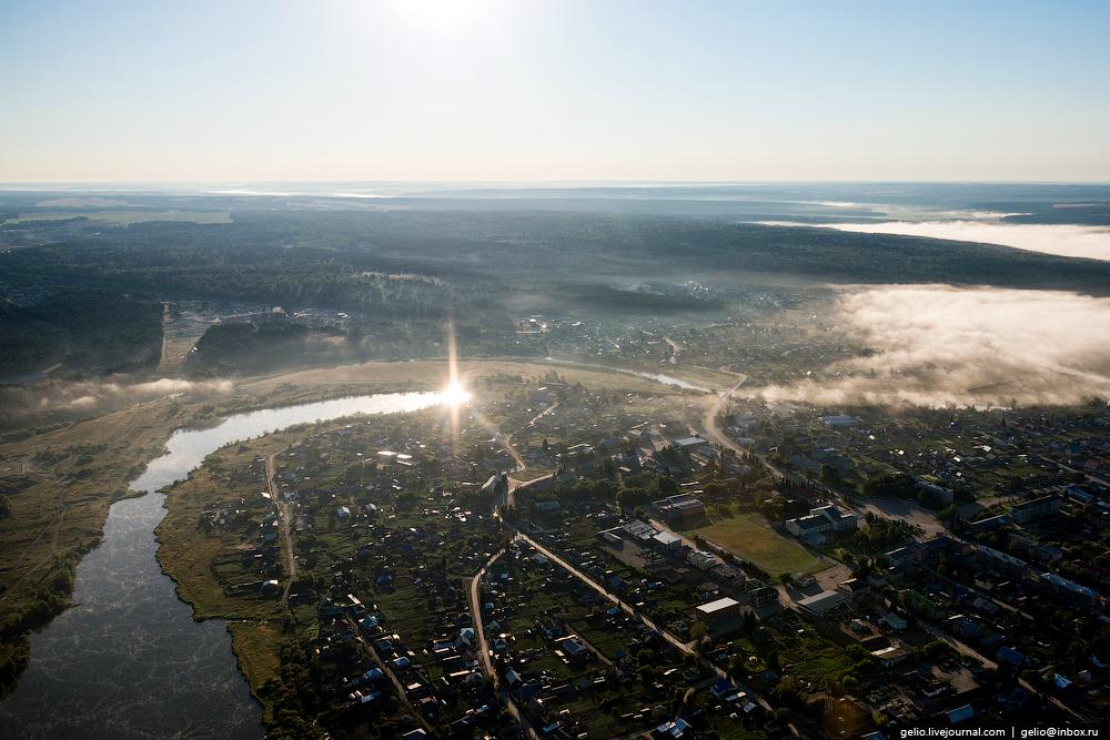 Flight over Novosibirsk region. Berd rocks 18