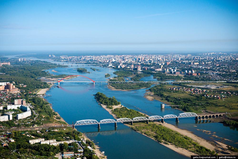 Flight over Novosibirsk region. Berd rocks 23