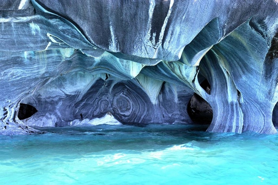 Marble caves Chile_9