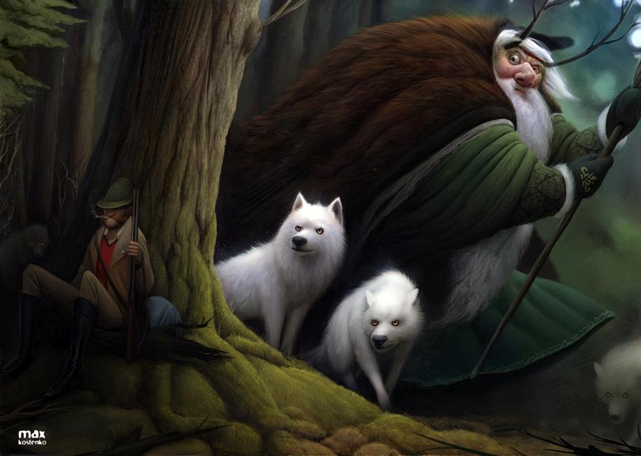 Удивительные рисунки фэнтази от Макса Костенко