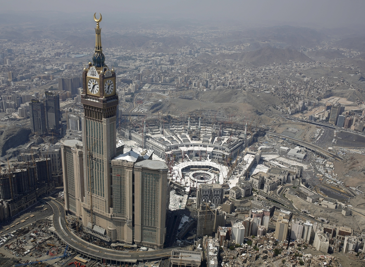 Mecca with height 01