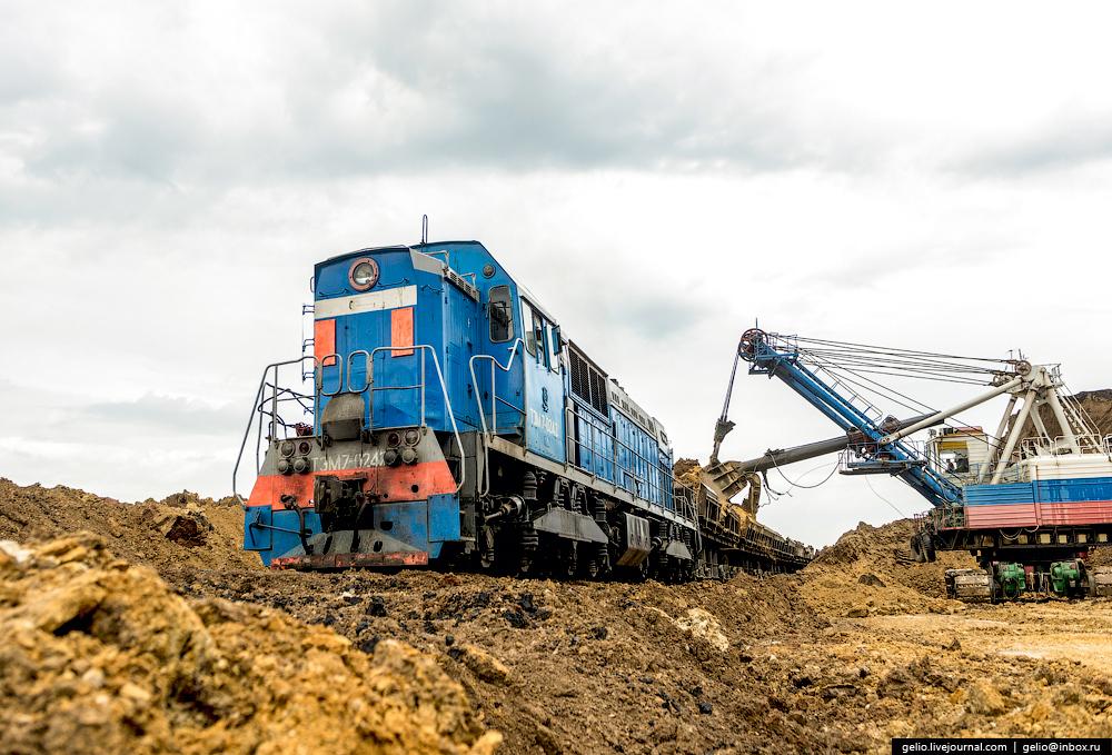 Nazarovo coal cut 03