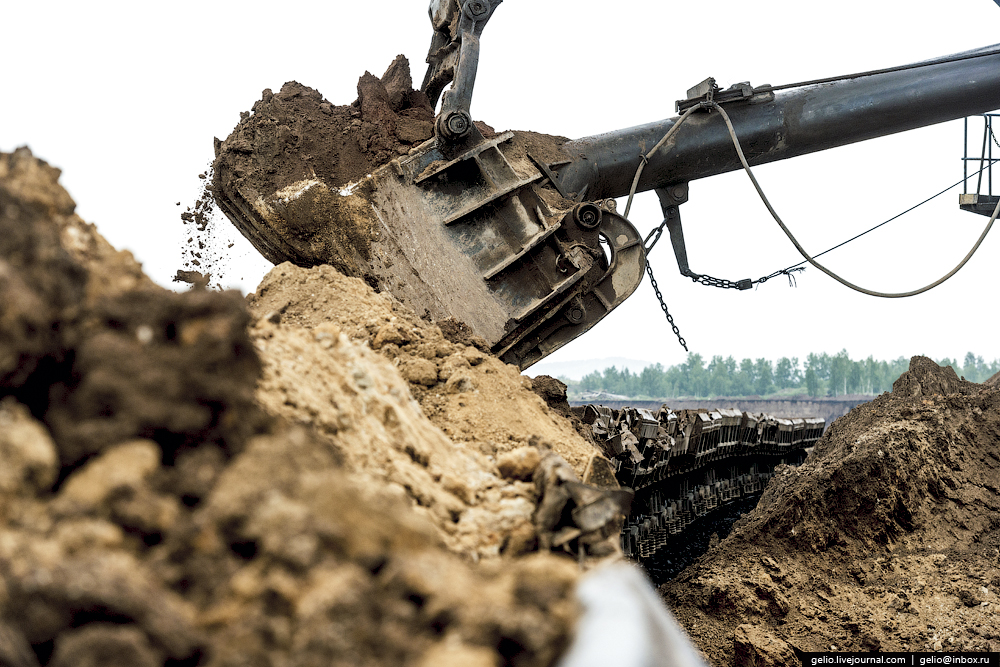 Nazarovo coal cut 04