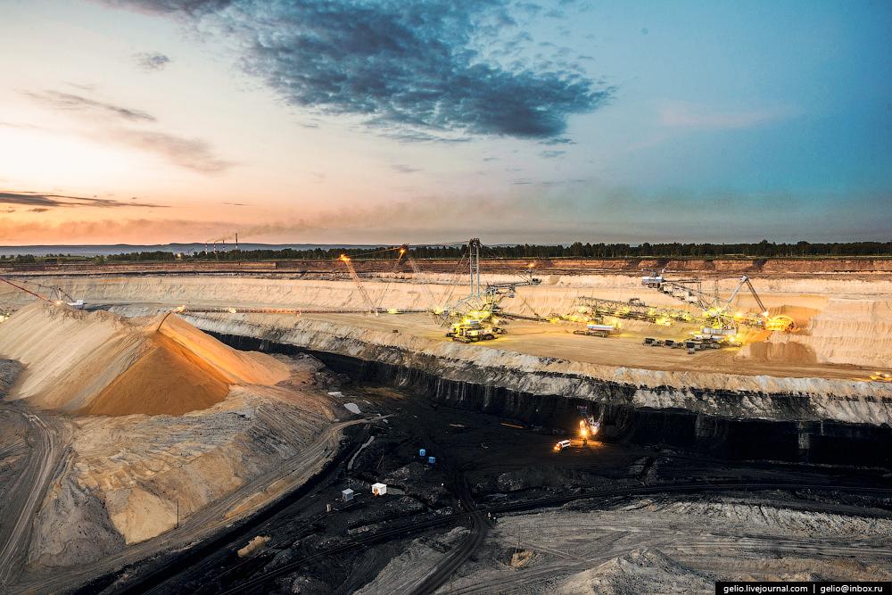 Nazarovo coal cut 07