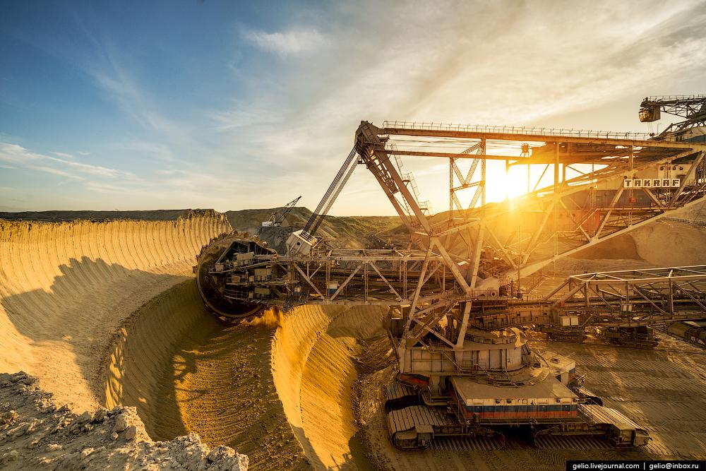 Nazarovo coal cut 08