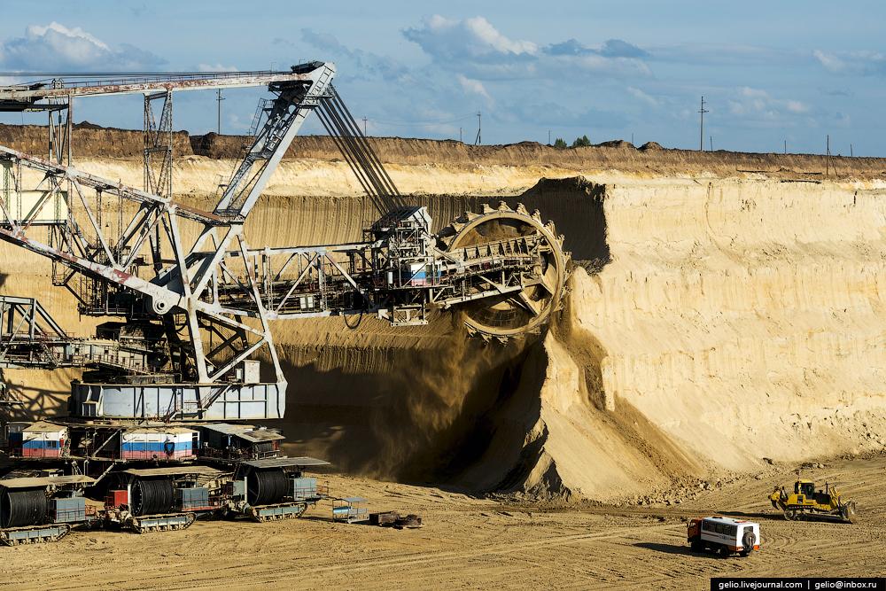 Nazarovo coal cut 09