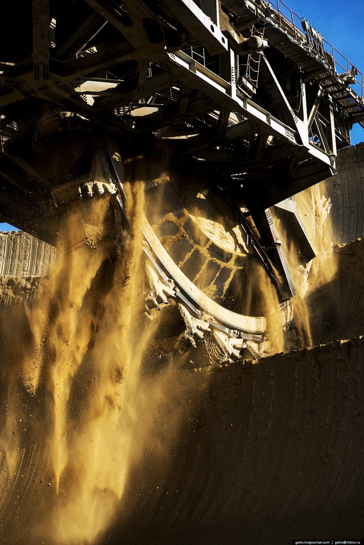 Nazarovo coal cut 11