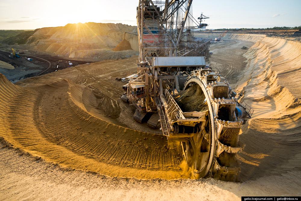 Nazarovo coal cut 13