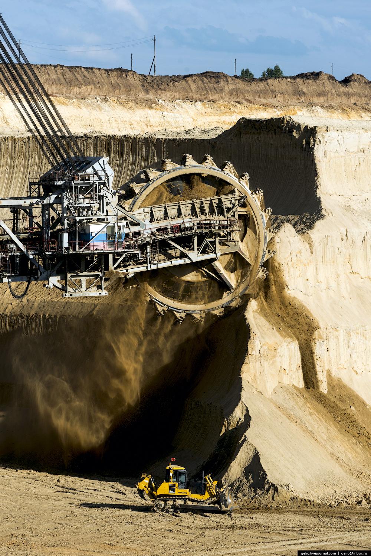 Nazarovo coal cut 15