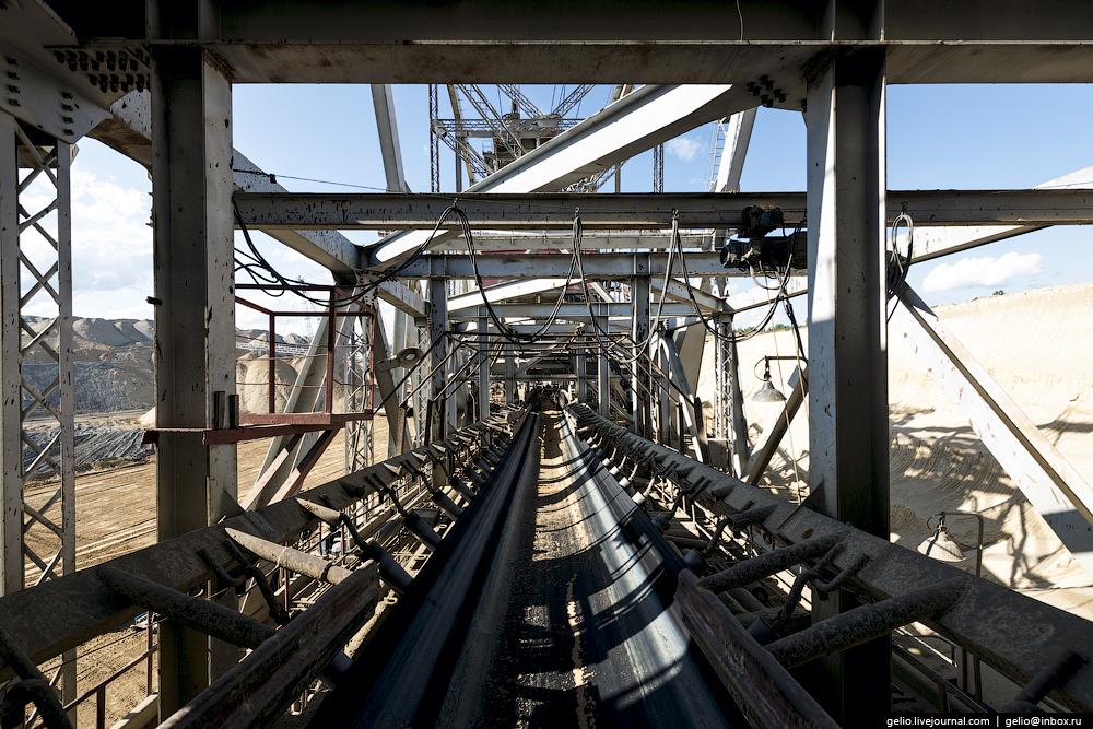 Nazarovo coal cut 16