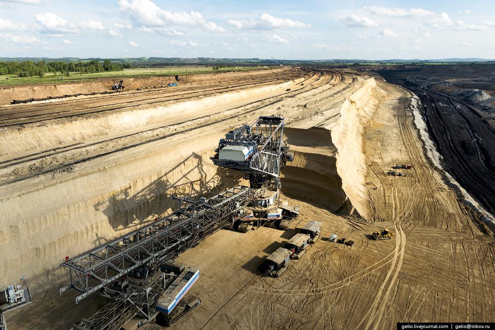 Nazarovo coal cut 17