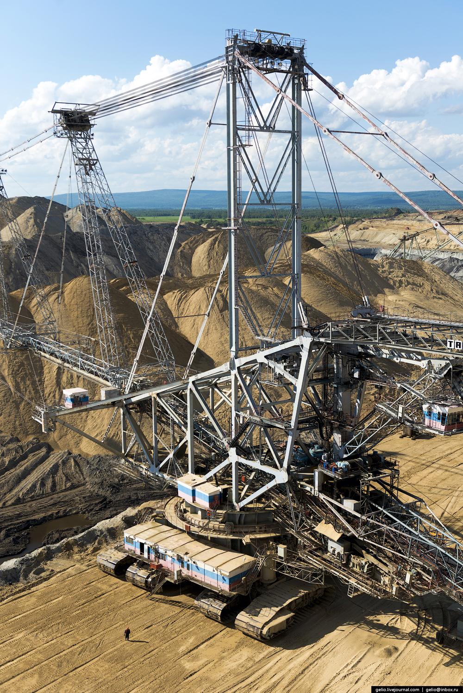 Nazarovo coal cut 18