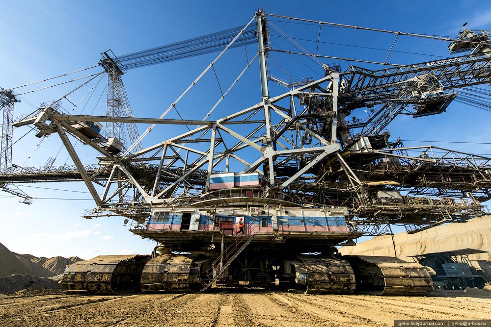Nazarovo coal cut 19