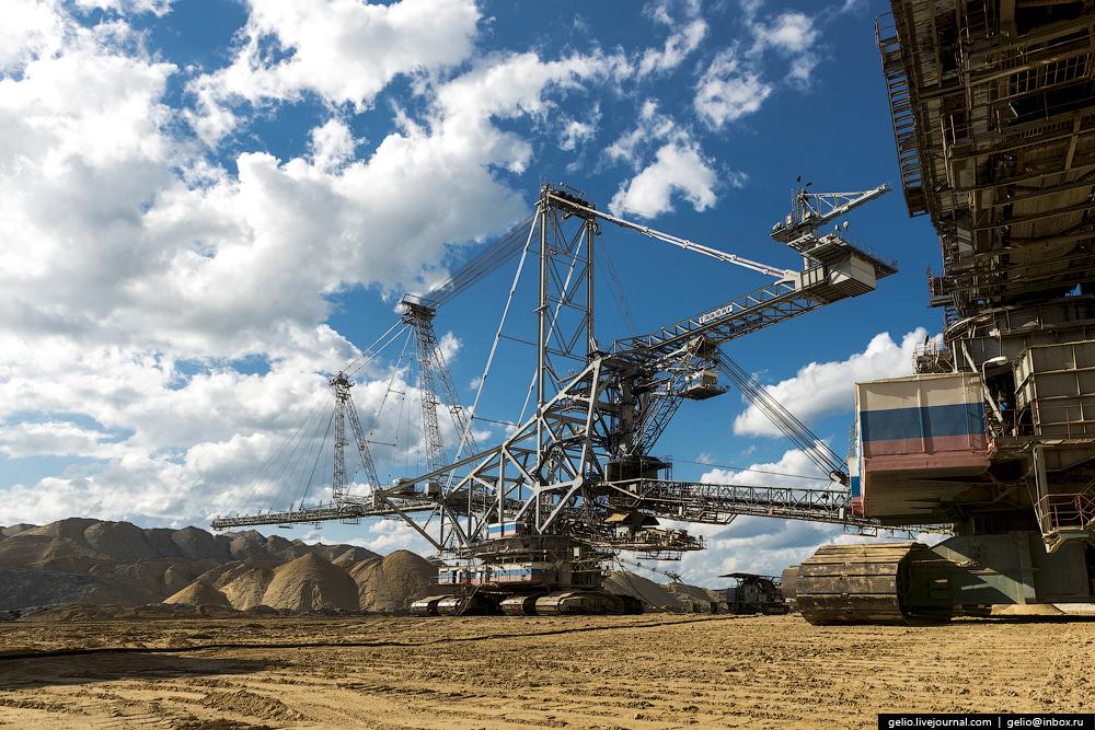 Nazarovo coal cut 20