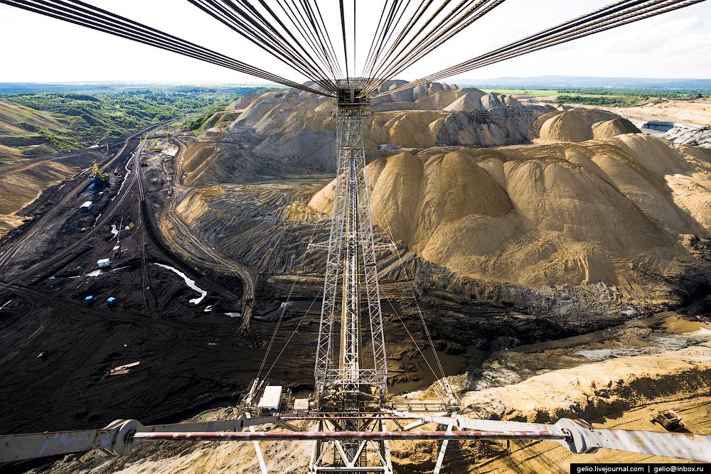 Nazarovo coal cut 22