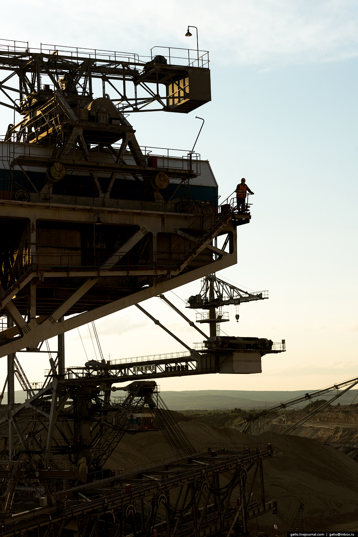 Nazarovo coal cut 27