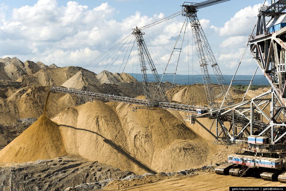 Nazarovo coal cut 28