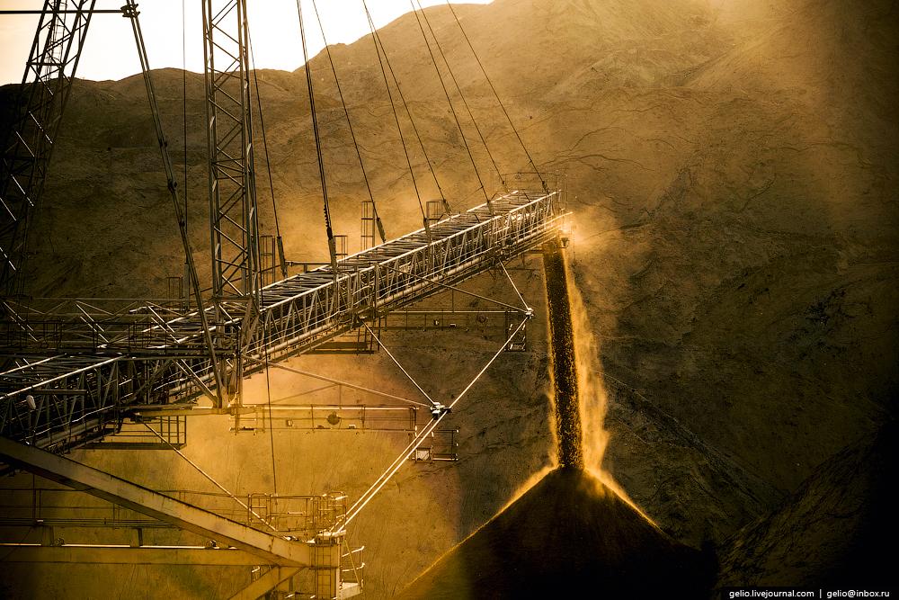 Nazarovo coal cut 30