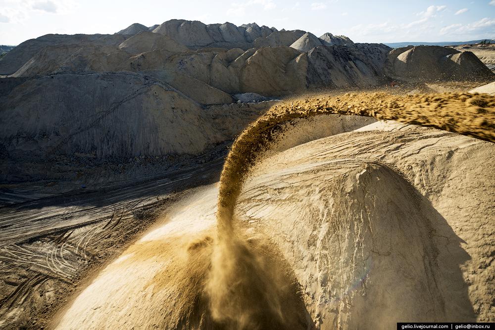 Nazarovo coal cut 31