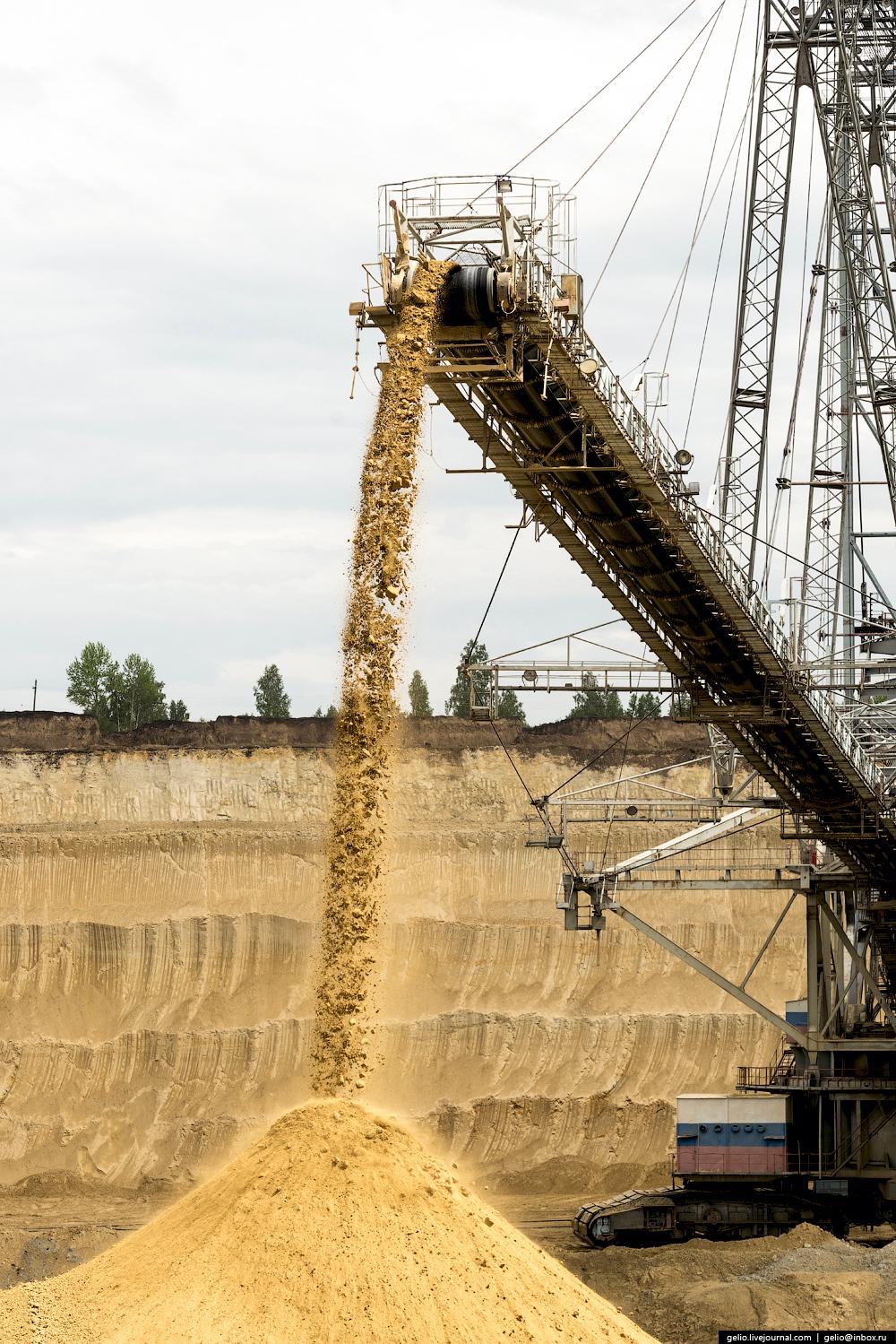 Nazarovo coal cut 32