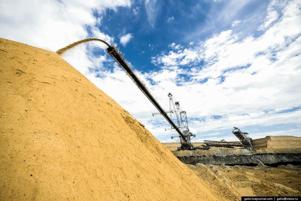 Nazarovo coal cut 33