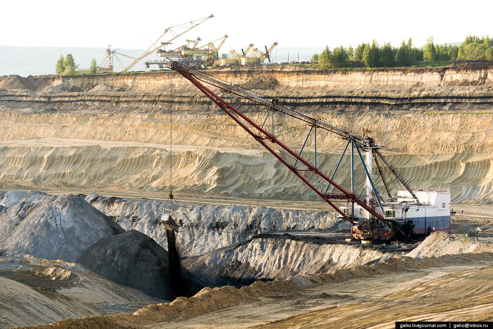 Nazarovo coal cut 34