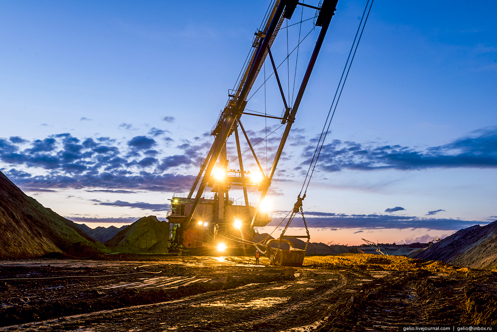 Nazarovo coal cut 36