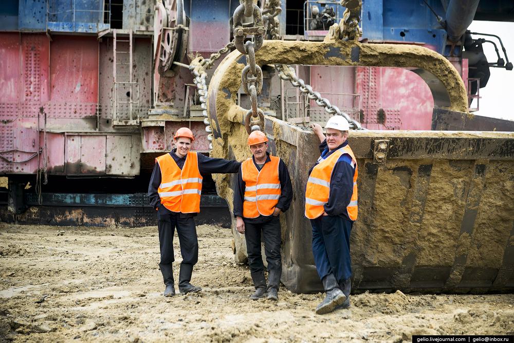 Nazarovo coal cut 40