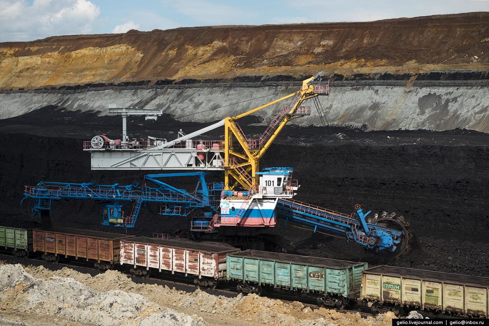 Nazarovo coal cut 42