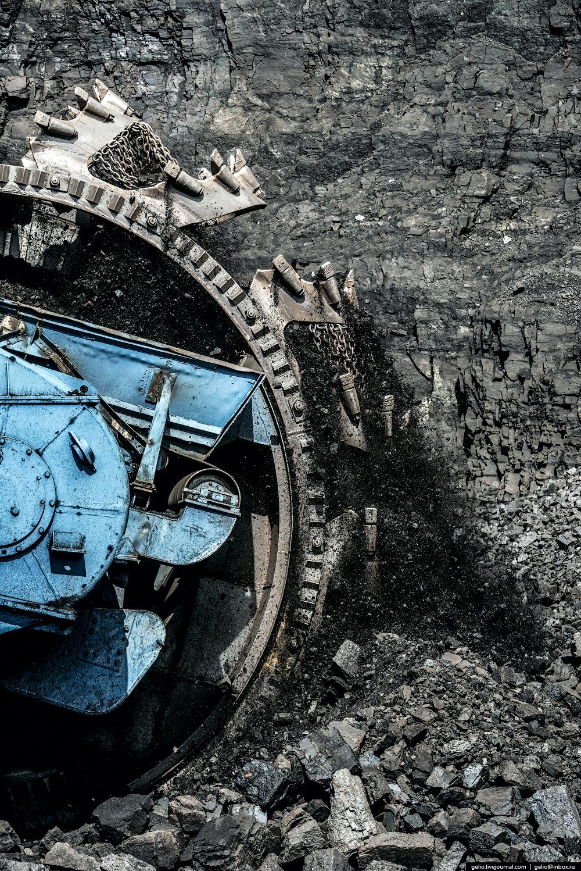 Nazarovo coal cut 43
