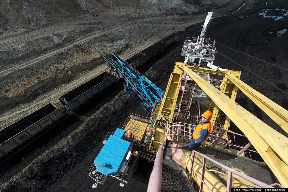 Nazarovo coal cut 44