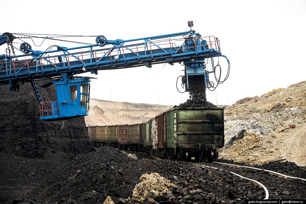 Nazarovo coal cut 46