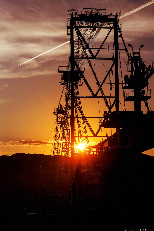 Nazarovo coal cut 49