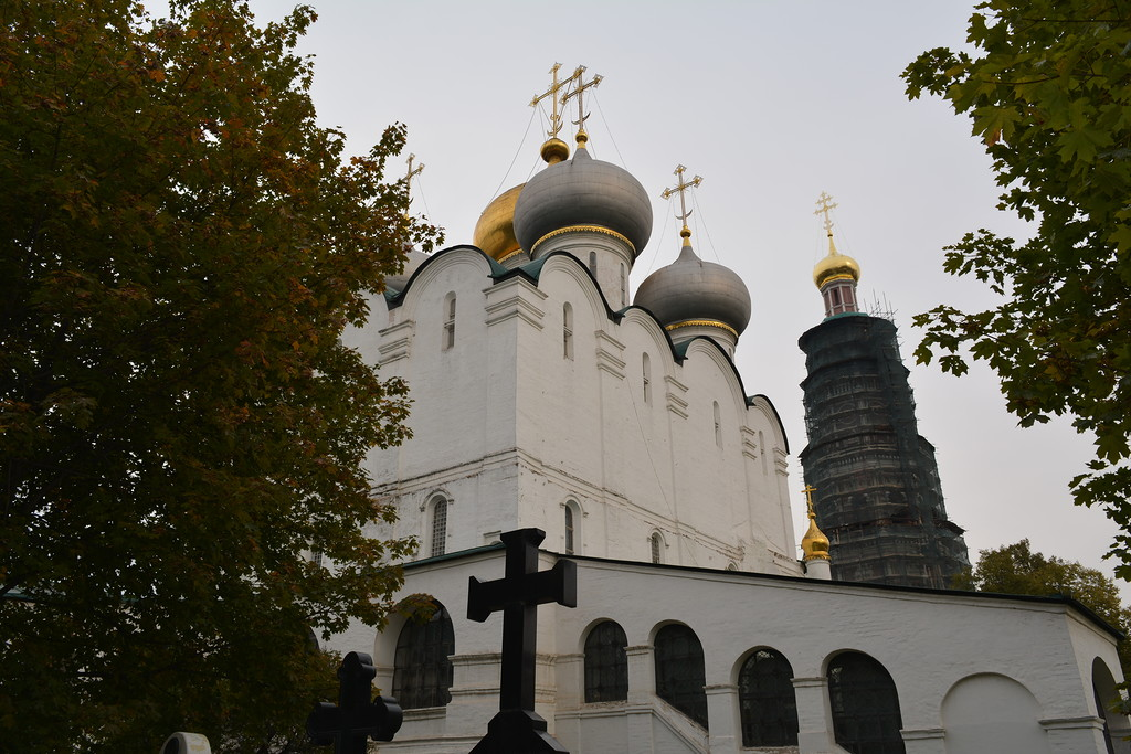 Novodevichy convent, Moscow 35