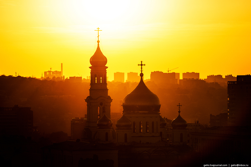 Rostov-on-don from a height 12