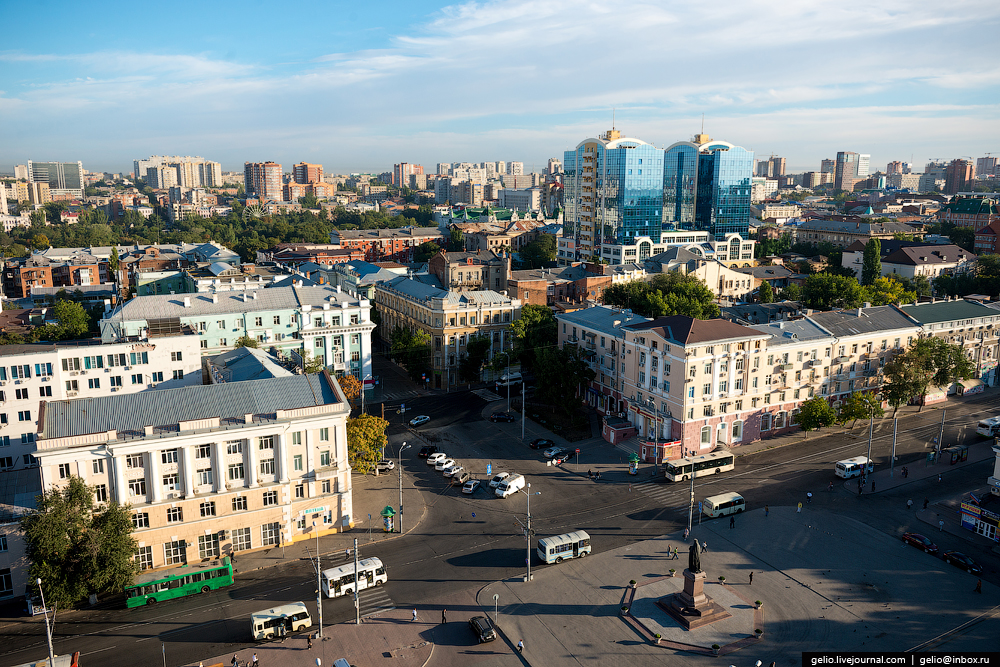 Rostov-on-don from a height 13