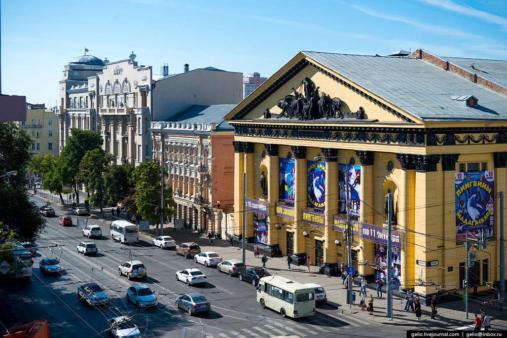 Rostov-on-don from a height 17