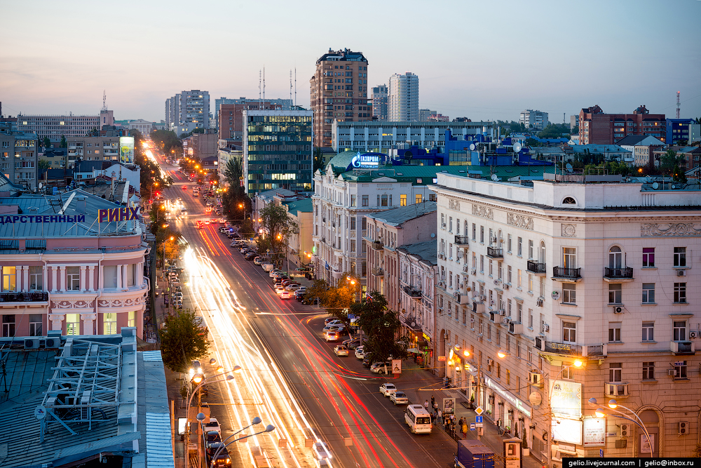Rostov-on-don from a height 20