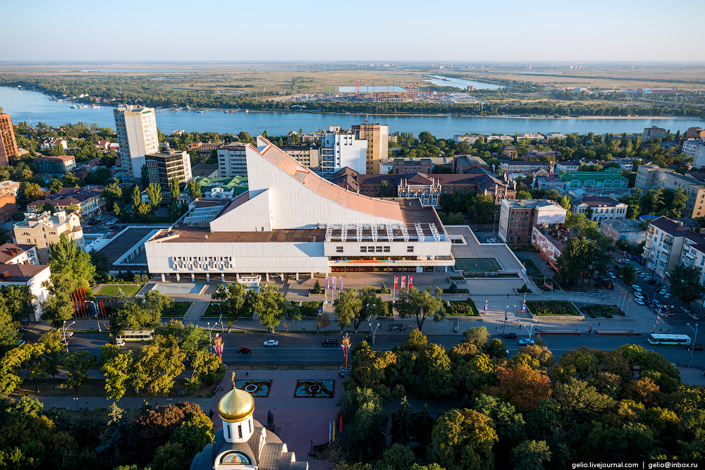 Rostov-on-don from a height 23