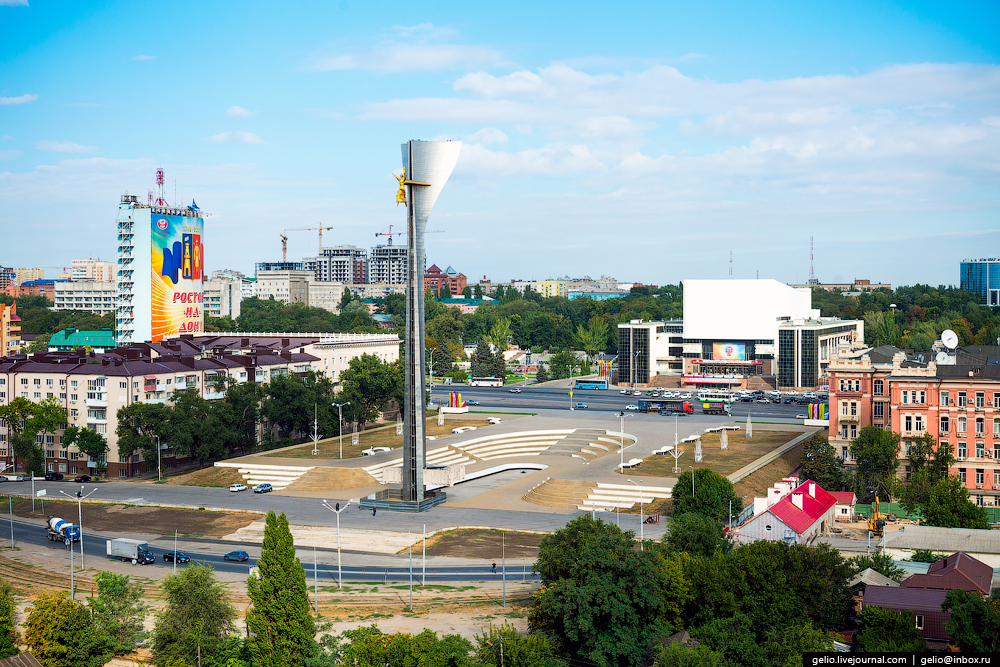Rostov-on-don from a height 37