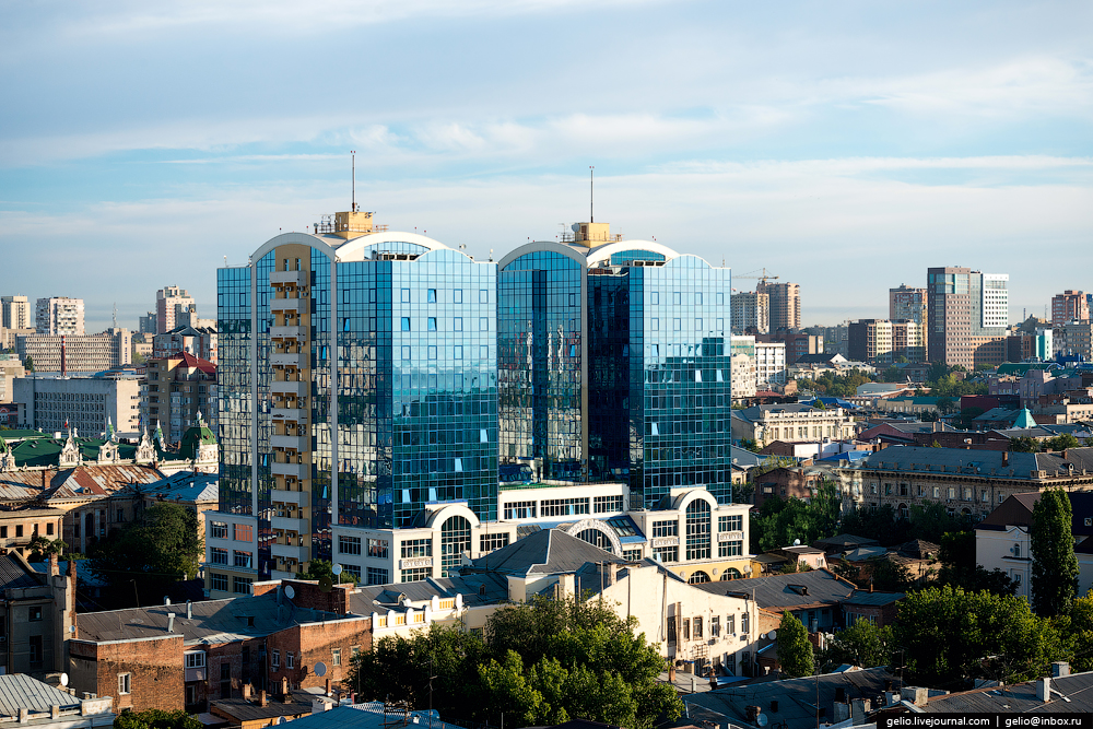 Rostov-on-don from a height 49